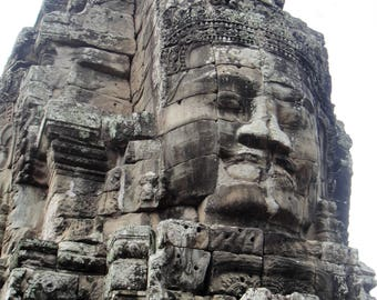 Angkor Thom - Travel Photography - Cambodia - Instant Download