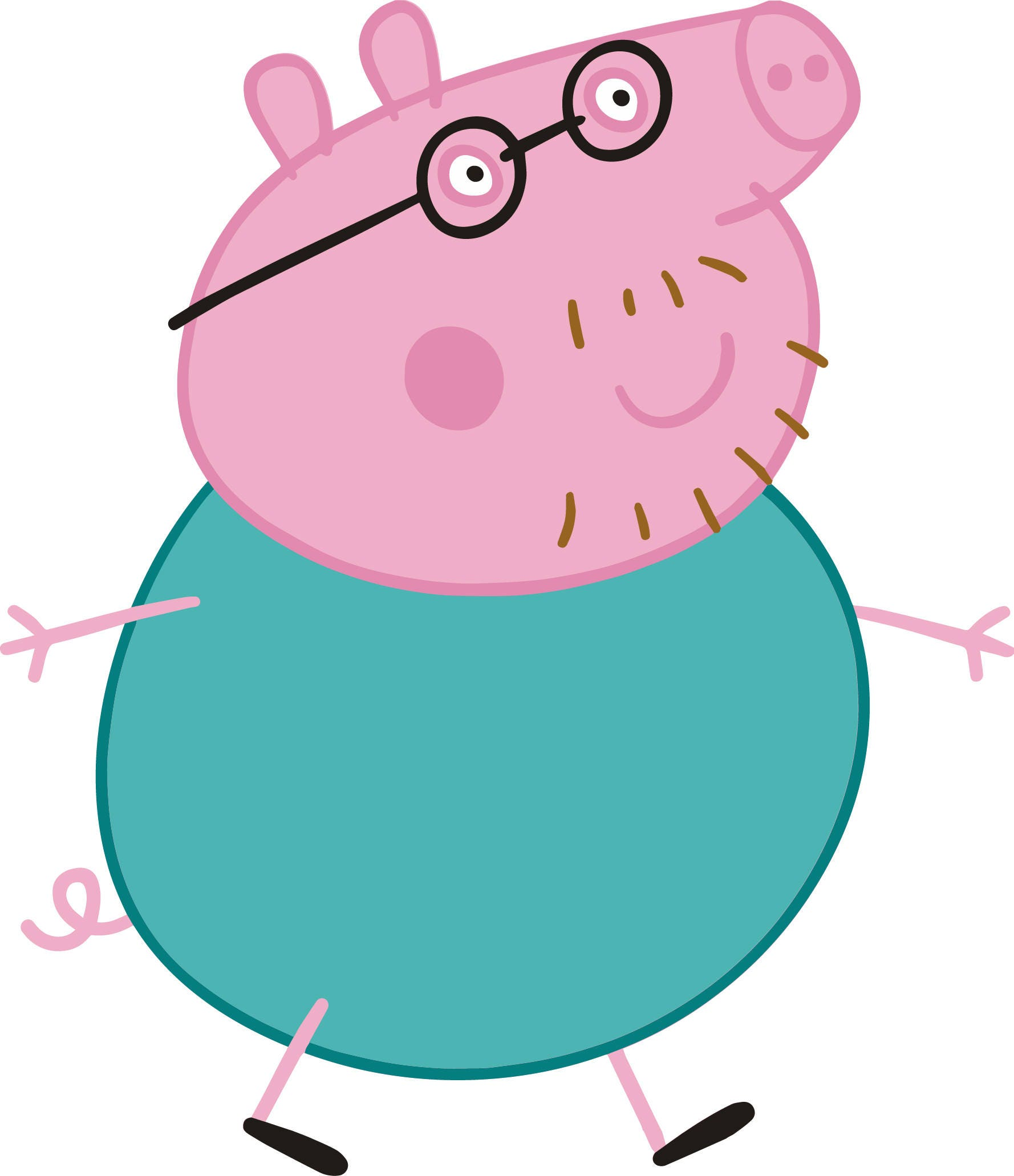 Sale Daddy Pig Peppa Pig S For Cutting And Printing Layered