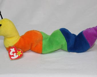 Ty Beanie Baby Inch the Worm