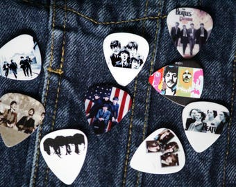 Beatles Guitar Pick Pins