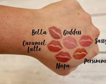 6 Lip Stencil | Ask! Lip Stencil | LipSense | SeneGence | Lip Stencil | Lips Stencil | Lip Swatches | LipSense Stickers