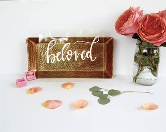 Beloved | Acrylic Sign | Wedding Sign | Wedding Decor