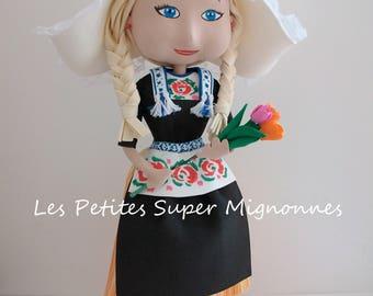 """Fofucha """"Perine"""" Dutch doll"""