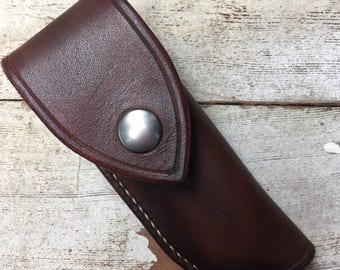Buck Knife 112 Sheath with Snap Cover