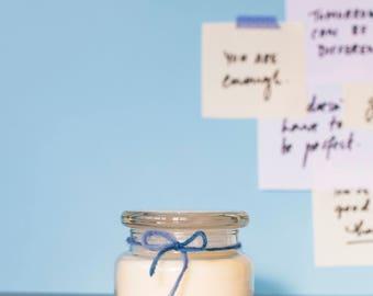 Betley | Medium White Tea & Lavender | Natural Soy Candle | Handmade | Social Enterprise