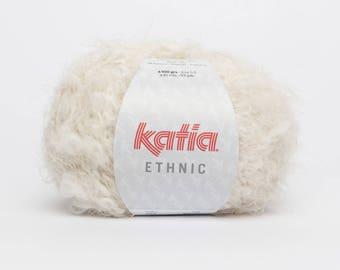 Wool Katia ETHNIC color 50 - Ecru - off-white