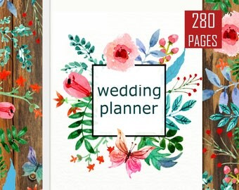Ultimate Maid of Honor Wedding Planner Organizer Kit Instant