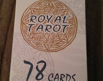 Royal Tarot Playing Cards - 78 Card Deck - new and sealed pack