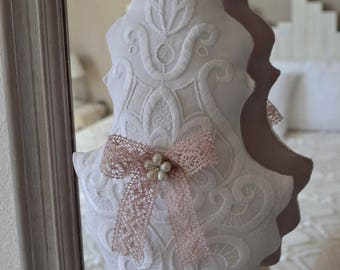 Grosse pampille shabby chic