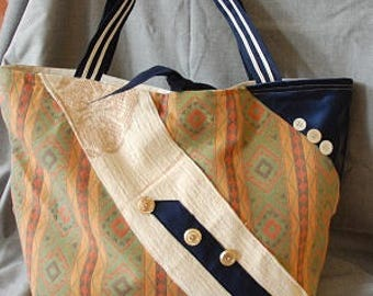 Tote soft fabric