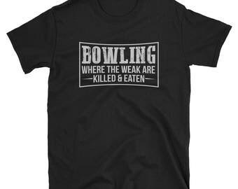 Bowling Shirt Bowling Gift Funny T-Shirt
