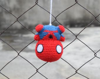 Spiderman AMIGURUMI pattern