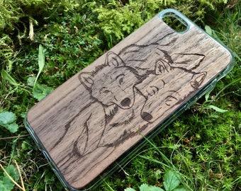 Dog Wood iPhone case 7 plus, 7, 6 6s plus, 6 6s, se 5s 5, 4s 4; Samsung case s5, s6, s6 edge, s6 edge plus, S7, S7 edge, Note5, A5 2017