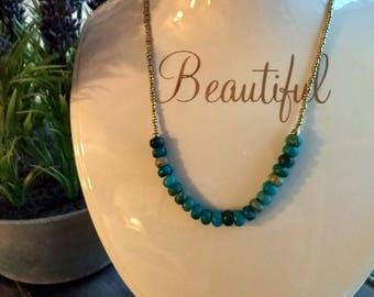 Turquoise Jasper Necklace
