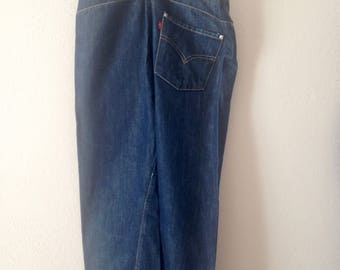 Rare Levi's Engineered Jeans Womens 26x32