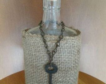 Decorative Vintage Whiskey Bottle
