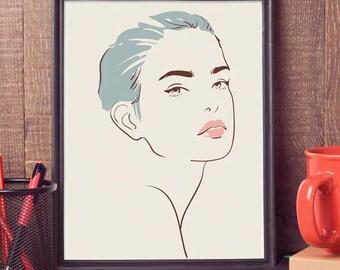Femme Fatale - art print - poster - fine art - A1 - limited edition