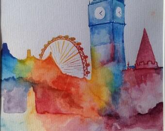 London in Colour Series, Big Ben, London Eye