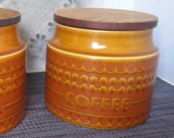Classic Hornsey Saffron (1974) Coffee Jar