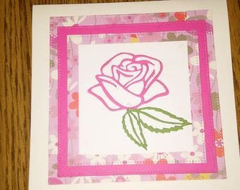 Handmade 5X5 All Occasion note card