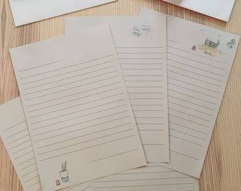 Stationery and envelopes free shipping