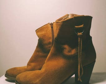 100% leather Cowgirl boots