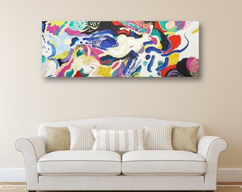 Erotic Art Oil Painting Art Painting  Abstract Art Canvas Art Wall Art Modern Artwork Original Painting Large Painting Gifts For Her