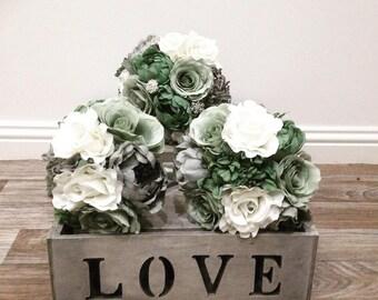 Silk Flower wedding package