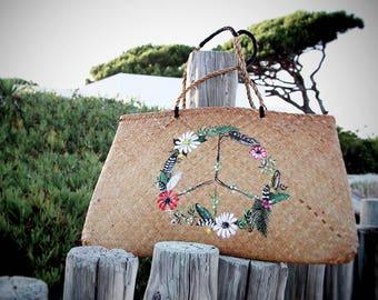 Basket Peace & Love