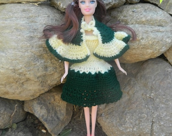 Outfit for Barbie doll