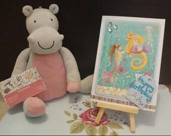 Mermaid Birthday card | Sister | Daughter | Auntie | Friend | Mother
