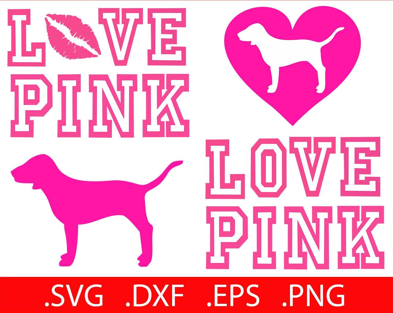 Download Love Pink SVG File Love Pink Clip Art Love Pink SVG Love