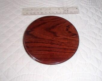 Personal Mirror Cocobolo wood