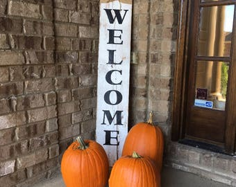 Welcome Sign, Welcome Sign for Front Porch, Wood Signs, Wood Welcome Sign, Wood Welcome Sign Front Porch, Porch Sign, Rustic Welcome Sign