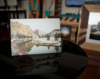 Crooked River at Smith Rock State Park Greeting Card