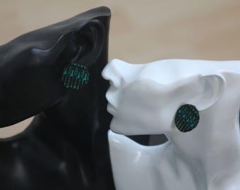 earrings, african fabric, ankara, jewellery, accessories, african earrings, ankara earrings, afrocentric earrings