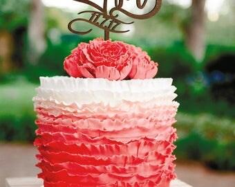 Wedding Cake Topper B letter Heart cake topper Letter M Golden Cake Topper B Date Gold Monogram  Cake Topper Date rustic heart Cake Topper D