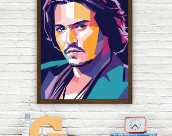Johnny Depp Limited Artwork