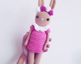 Amigurumi Toy, Crochet Toy, Bunny toy, Newborn gift, Child gift, Baby shower gift, Amigurumi, Crochet Bunny, Handmade bunny, Christmas gift