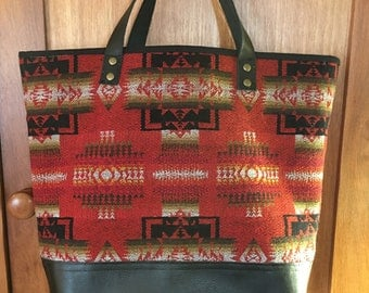 Native American Inspired Tote Bag