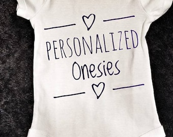 Infant Onsies Personalized