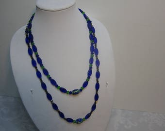 Handmade His and Her's seahawk's Necklace Set