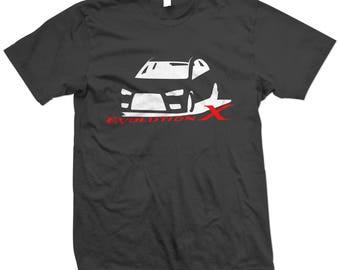 EVO X 10 Lancer Evolution T-shirt ver3