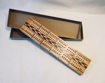 Kingsbride Vintage Cribbage Board
