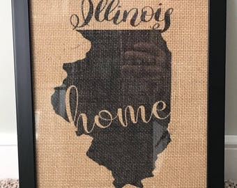 Burlap Pictures with or without frame
