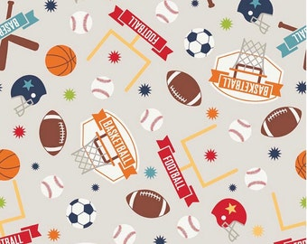 Fabric by the Yard, Sports fabric, Cotton Fabric, Football Fabric, Quilting Fabric Online, 100% Cotton Fabric, Riley Blake Fabric, Fabric