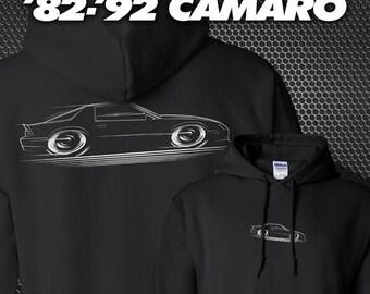 1982-1992 Chevy Camaro Hoodie '82-'92 Z-28 SS Chevrolet