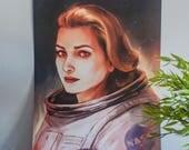 Nasa poster, astronaut po...