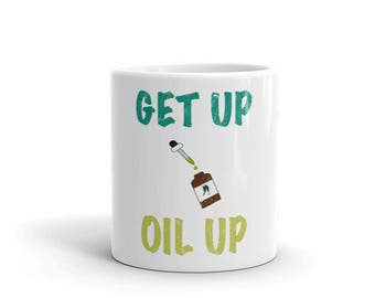 Essential Oil Get Up Oil Up! Mug