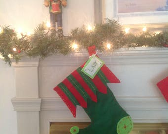 """Personalized Pet Christmas Stocking - """"The Grinch"""""""
